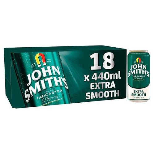 John Smith Extra Smooth Cans 18x440ml