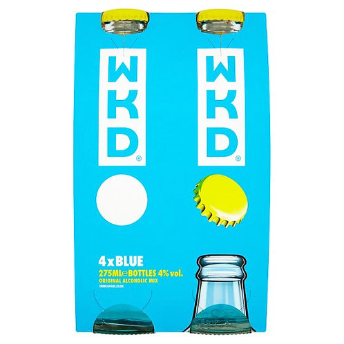 WKD Blue 4x275ml
