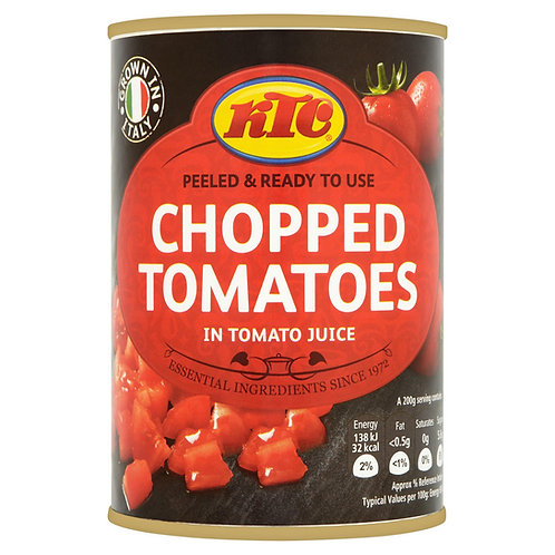 KTC Chopped Tomatotes 400g