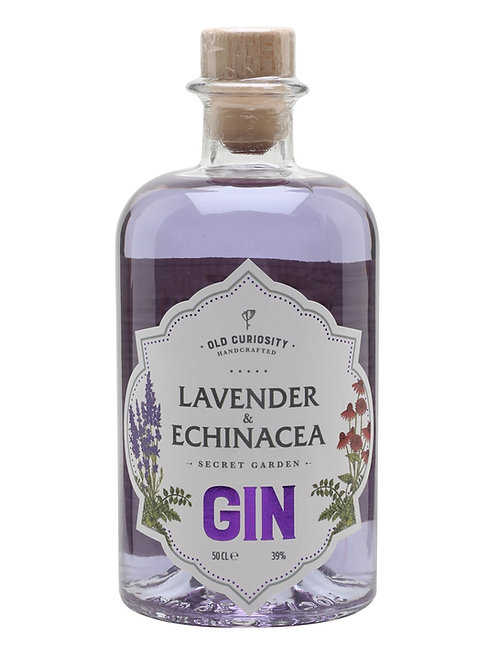 Old Curiosity Gin Lavender and Echinacea 50cl (v8355)