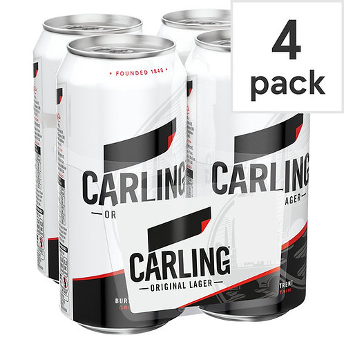 Carling Cans 4x500ml