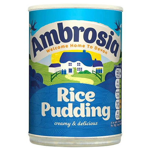 Ambrosia Rice Pudding Can 400g
