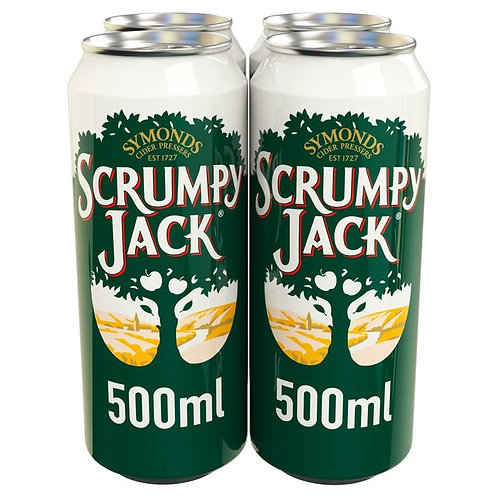 Scrumpy Jack Cans 4x500ml