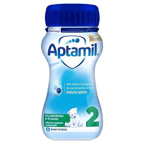 Aptamil Follow on Ready to Feed Milk 200ml