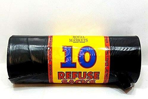 Royal market refuse sacks 10's