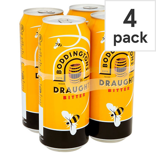Boddingtons Draught Cans 4x440ml