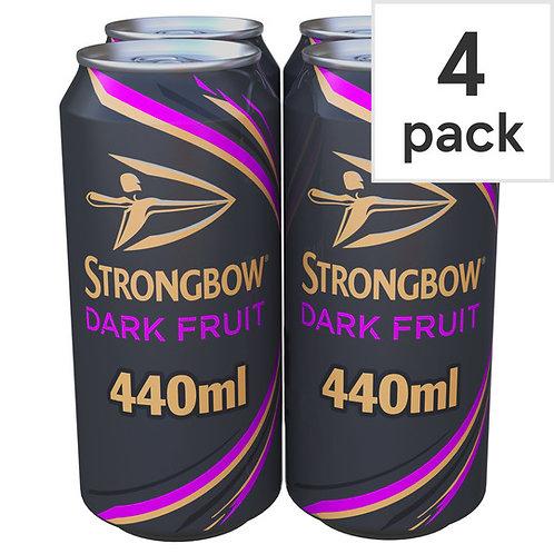 Strongbow Darkfruit Cans 4x440ml