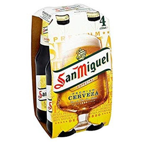 San Miguel bottles 4x33cl