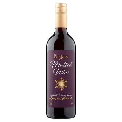 Belgars Mulled Wine 75cl
