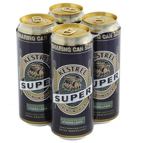 Kestrel Super Cans 4x500ml