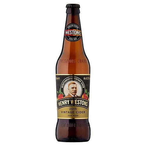 Henry Westons Vintage Cider 500ml