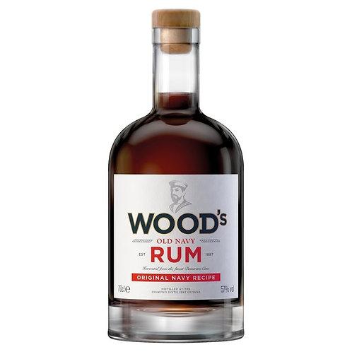 Woods Rum 70cl