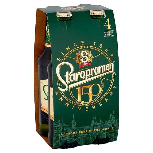Staropramen bottles 4x33cl