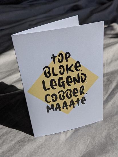 Personalised Card (Maaate)