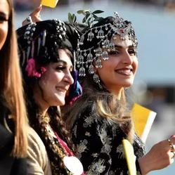 Assyrian Women / Pope Visit