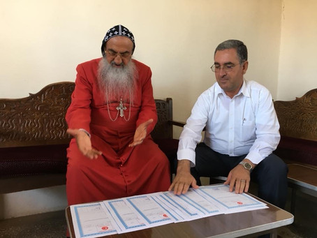 Turkey returns 55 improperly-confiscated properties to Assyrians in Tur Abdin