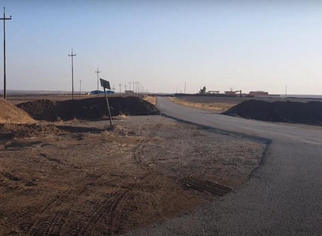 Access route in the Nineveh Plain blocked by KRG security forces