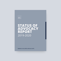 Status of Advocacy Report 2019-2020