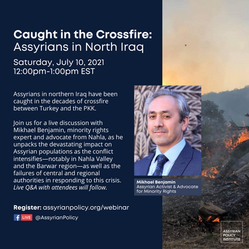 Assyrians in northern Iraq have been caught in the decades of crossfire between Turkey and
