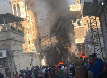 Explosion targets church in Assyrian district of Qamishli, Syria