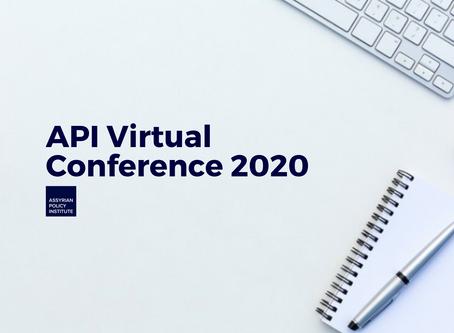 The API announces Virtual Conference