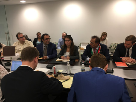 API attends Hudson Institute Working Group with Lara Yousif Zara