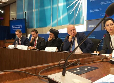 Dabrina Bet Tamraz Testimony at U.S. State Department Ministerial