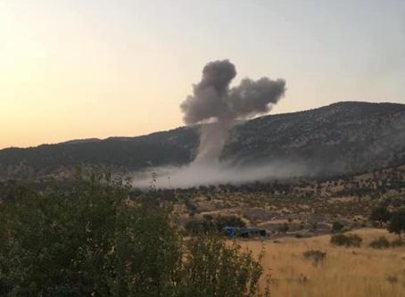 Turkish airstrikes in Assyrian villages in northern Iraq continue