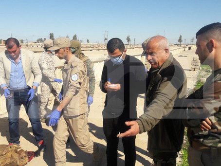 Mass Grave from ISIS Massacres Uncovered in Assyrian Town of Bakhdida, Iraq