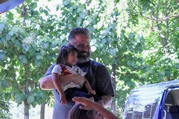 Rhett with Sponsor child