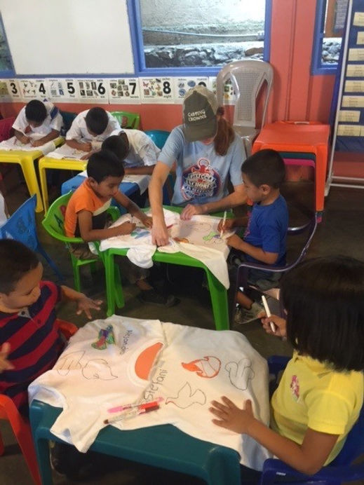 Honduras mission with kids