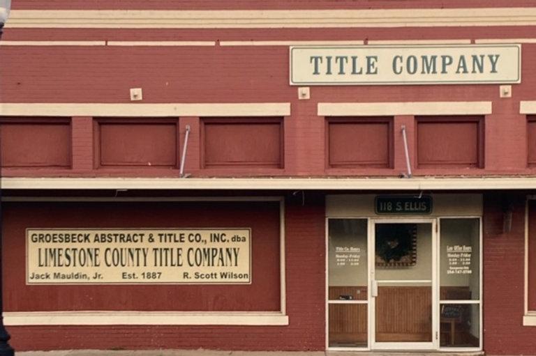 Limestone County Title Company