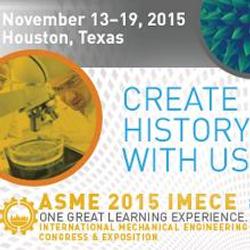 2015 ASME IMECE Conference