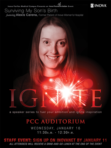 Ignite Event Poster
