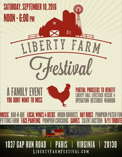 Liberty Farm Festival Poster
