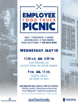 Employee Picnic Poster