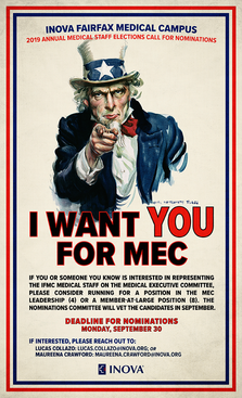 Medical Executive Committee Recruitment Poster