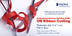 OR Ribbon Cutting Event