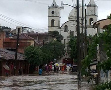 Flooding in Acapulco
