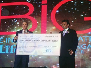 Foundation 4Life Supports Indonesia Disaster Relief