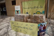 4Life Spain Donates a Half Ton of School Supplies