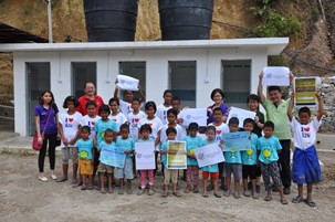 Foundation 4Life Donates Restroom Facilities to Ace Lighthouse Academy