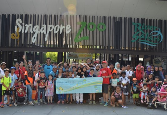 Trip to the Singapore Zoo