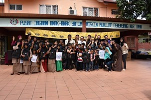 Back-to-School Event at Nur Iman Orphanage
