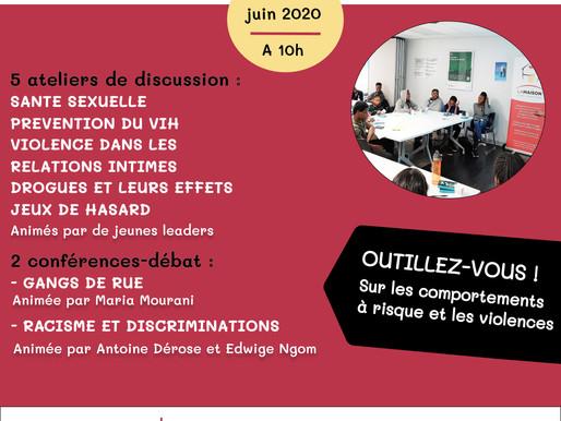 Événement de juin: Mobiliser les jeunes