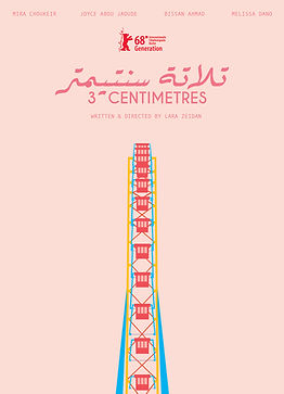 Three Centimetres by Lara Zeidan Poster