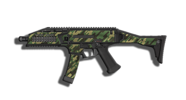 Scorpion EVO green camo