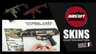 Installation Skin Airsoft Review