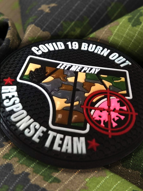 Patch COVID 19 BURN OUT