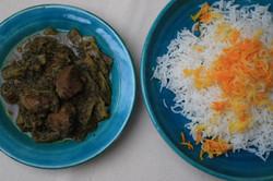 Khoresht-e-Karafs main meal